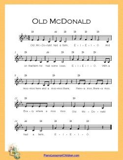 Printable Old Macdonald Had A Farm | Bed Mattress Sale