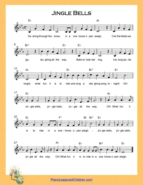 picture regarding Jingle Bells Lyrics Printable referred to as Jingle Bells - lyrics, motion pictures absolutely free sheet audio for piano